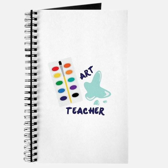 Watercolor Artist Paint Palette Art Teacher Journa