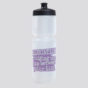 Teacher Appreciation Humor Sports Bottle