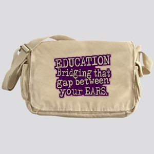 Teacher Appreciation Humor Messenger Bag