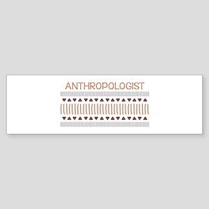 Anthropologist Bumper Sticker