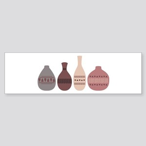 Pottery Vases Bumper Sticker