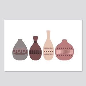 Pottery Vases Postcards (Package of 8)