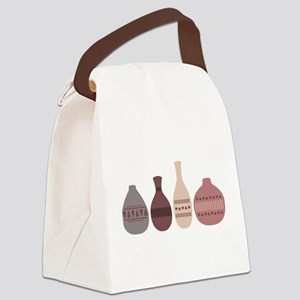 Pottery Vases Canvas Lunch Bag