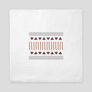 Tribal Border Pattern Queen Duvet