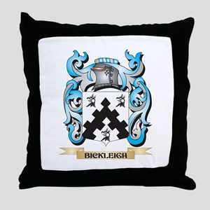 Bickleigh Coat of Arms - Family Crest Throw Pillow