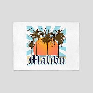 Malibu California 5'x7'Area Rug