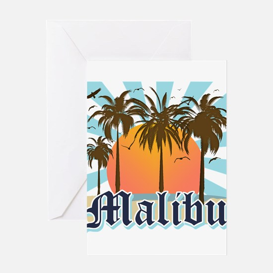 Malibu California Greeting Cards