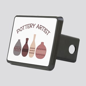 Pottery Artist Vases Hitch Cover