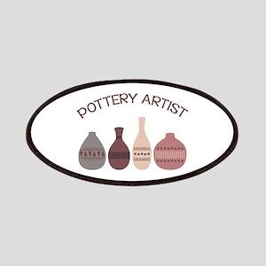 Pottery Artist Vases Patch