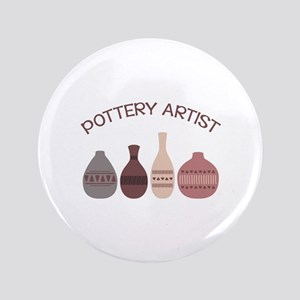 Pottery Artist Vases Button
