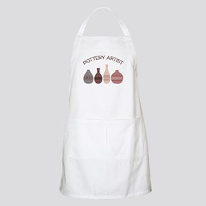 Pottery Artist Vases Apron