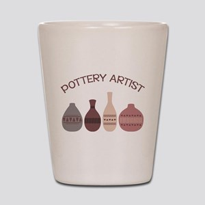 Pottery Artist Vases Shot Glass