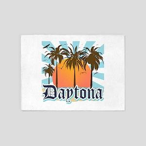 Daytona Beach Florida 5'x7'Area Rug