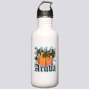 Aruba Caribbean Island Stainless Water Bottle 1.0L