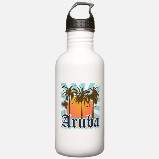 Aruba Caribbean Island Water Bottle