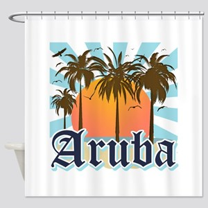 Aruba Caribbean Island Shower Curtain