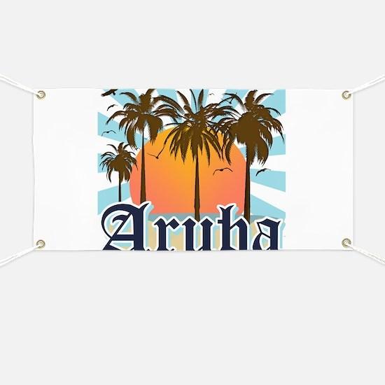 Aruba Caribbean Island Banner