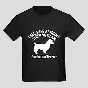 Sleep With Australian Terrier Do Kids Dark T-Shirt
