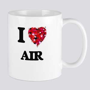 I Love Air Mugs