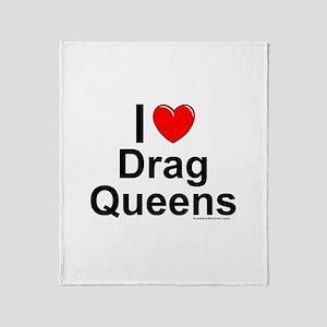 Drag Queens Throw Blanket