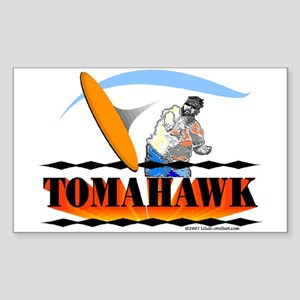 TOMAHAWK Rectangle Sticker