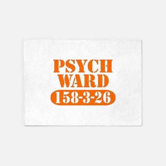 Psych Ward 5'x7'Area Rug