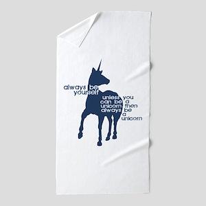 Unicorns Beach Towel