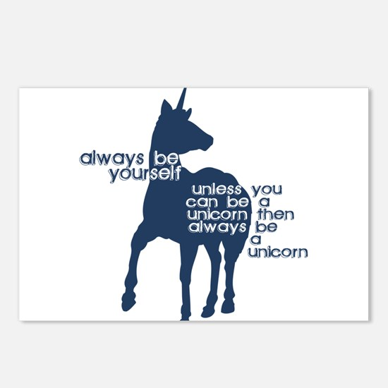 Unicorns Postcards (Package of 8)