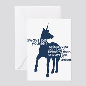 Unicorns Greeting Cards