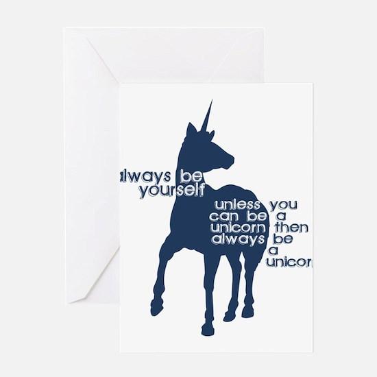 Unicorns Greeting Cards