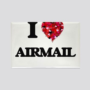 I Love Airmail Magnets