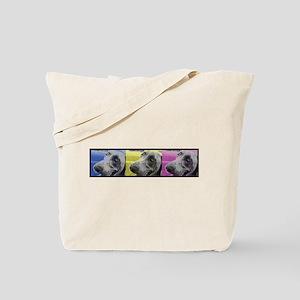 Tri-Color Weimaraner Tote Bag