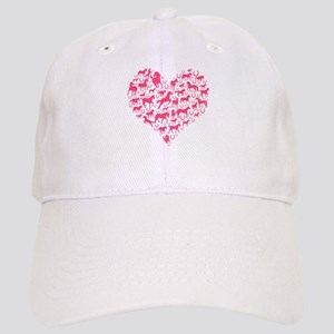 Horse Heart Pink Cap