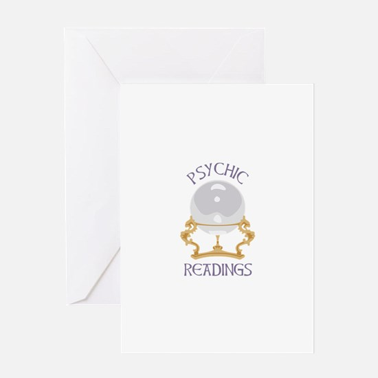 Psychic Reading Greeting Cards