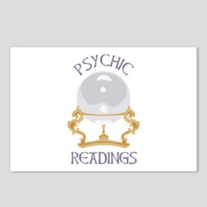 Psychic Reading Postcards (Package of 8)