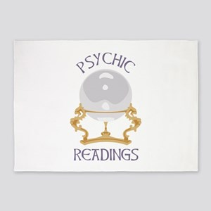 Psychic Reading 5'x7'Area Rug
