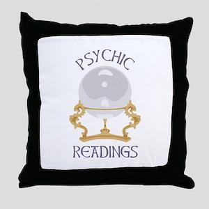 Psychic Reading Throw Pillow