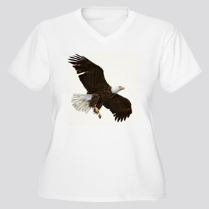 Amazing Bald Eagl Women's Plus Size V-Neck T-Shirt