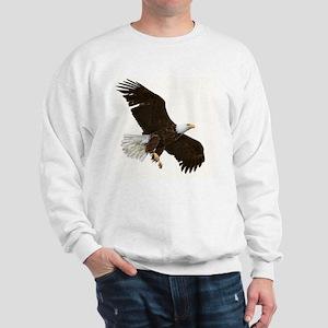 Amazing Bald Eagle Sweatshirt