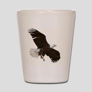 Amazing Bald Eagle Shot Glass
