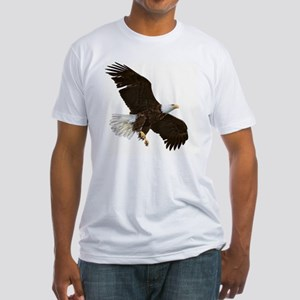 Amazing Bald Eagle Fitted T-Shirt