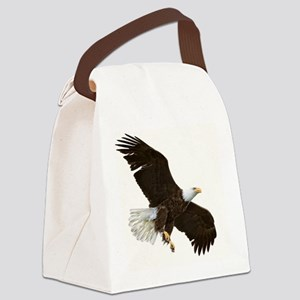 Amazing Bald Eagle Canvas Lunch Bag