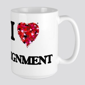 I Love Alignment Mugs