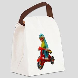 Scootzilla Canvas Lunch Bag