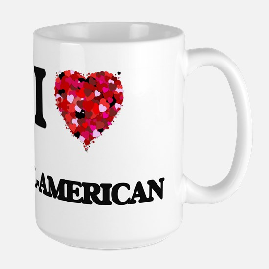 I Love All-American Mugs