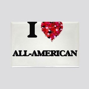 I Love All-American Magnets