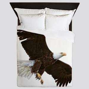 Amazing Bald Eagle Queen Duvet