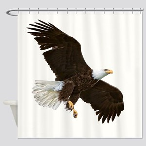 Amazing Bald Eagle Shower Curtain