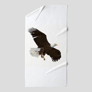 Amazing Bald Eagle Beach Towel