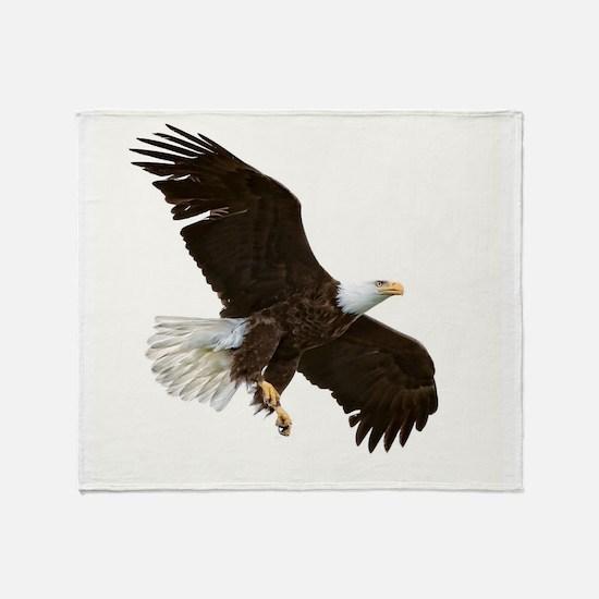 Amazing Bald Eagle Throw Blanket